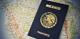 Precio del pasaporte mexicano en 2020